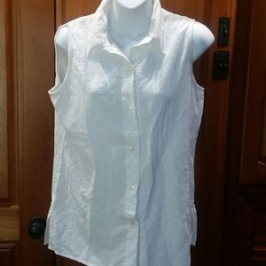 White Stag Whit Stretch Sleeveless Blouse
